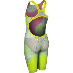 arena R-EVO ONE Costume Intero A Pantaloncino LTD Edition 2019 Ragazza, grigio/verde